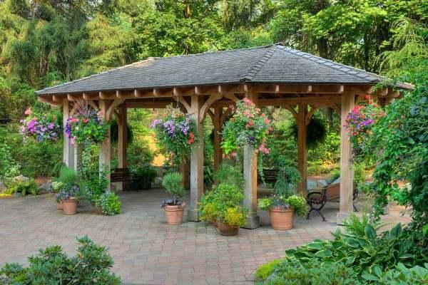 7 backyard gazebo ideas sun