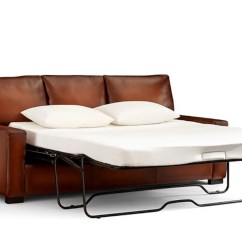 Pottery Barn Leather Sleeper Sofa Sch Sleeping Bag Bed 4 Pull Out Beds That Stylishly Save Space
