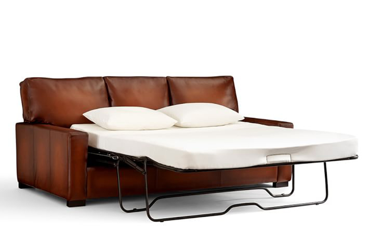 leather sofa bed pull out lazy boy mackenzie colors 4 beds that stylishly save space