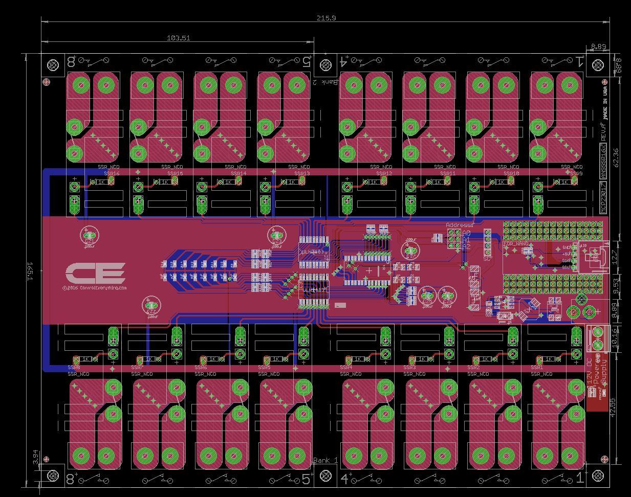 solid state relay wiring diagram 110cc mini chopper 16 channel controller for arduino nano