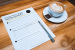 Simple ways to brainstorm blog post ideas   a free worksheet