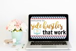 Side hustles that work laptop