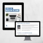 Modern resume   square
