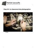Le classement des photos couverture