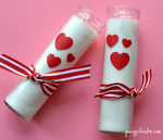 Valentine candles cricut (4)
