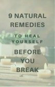 Heal yourself before your break 6