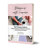 Blogging with purpose sample freebie