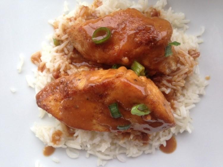 Easy Thai Peanut Chicken