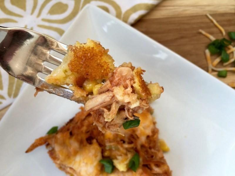 BBQ Chicken Cornbread Skillet