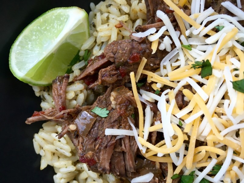 Easy Crock-pot Barbacoa - Cooking Up Happiness