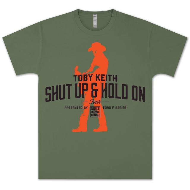 Toby Keith Shut Up and Hold On 2014 Tour Shirt