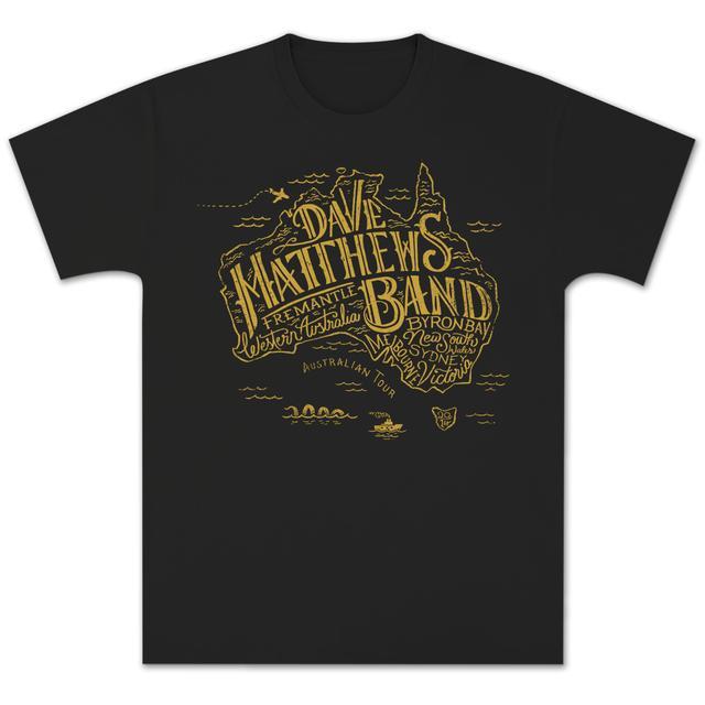 Dave Matthews Band Australia 2014 Tour Tee