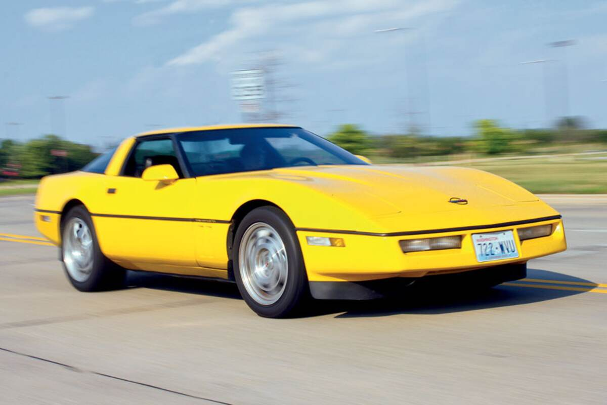 a regular corvette magazine contributor goes in search of a used c5 or c6 but ends up buying a c4 a competition yellow 1990 coupe which he scored for  [ 1100 x 733 Pixel ]