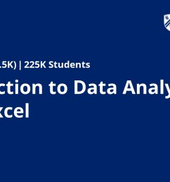 Introduction to Data Analysis Using Excel   Coursera [ 928 x 1772 Pixel ]