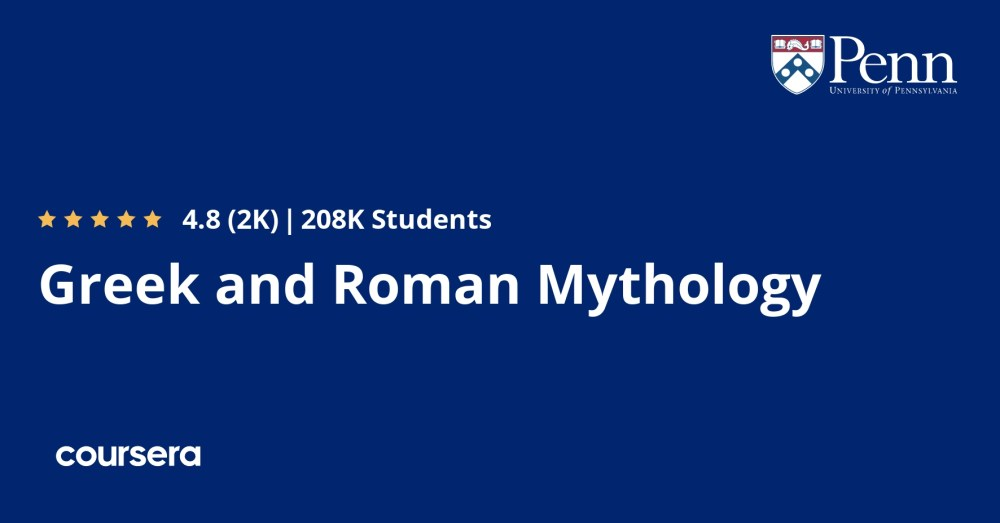 medium resolution of Greek and Roman Mythology   Coursera