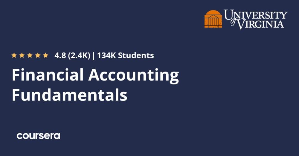 medium resolution of Financial Accounting Fundamentals   Coursera