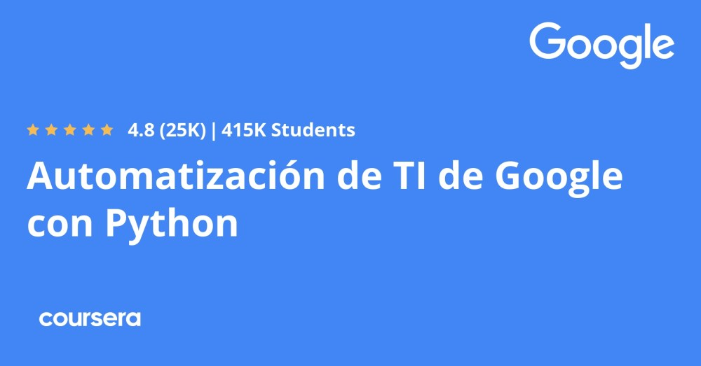 medium resolution of Google IT Automation with Python Professional Certificate   Coursera