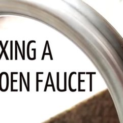 Moen Faucet Kitchen Walmart Play Sets The Best Videos For Fixing A Leaky Craftfoxes
