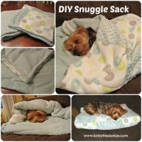 Doggie Snuggle Sack (Free Sewing Pattern) - Craftfoxes