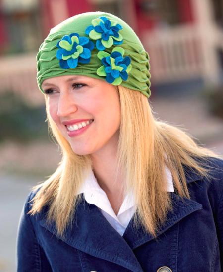 Free Cloche Hat Pattern : cloche, pattern, Greta, Cloche, (Free, Sewing, Pattern), Craftfoxes