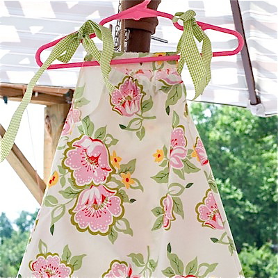 7 simple pillowcase dress patterns for