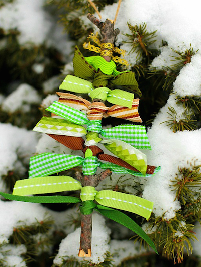 Christmas Kids Projects Tree Art