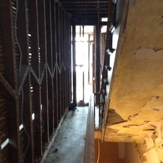 Hoboken Fire Restoration by AOA - Before