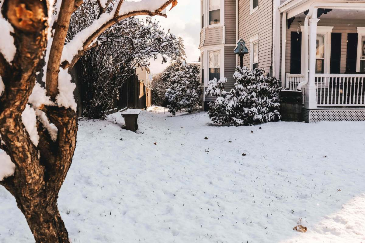 Get your home winter ready - tips from AOA