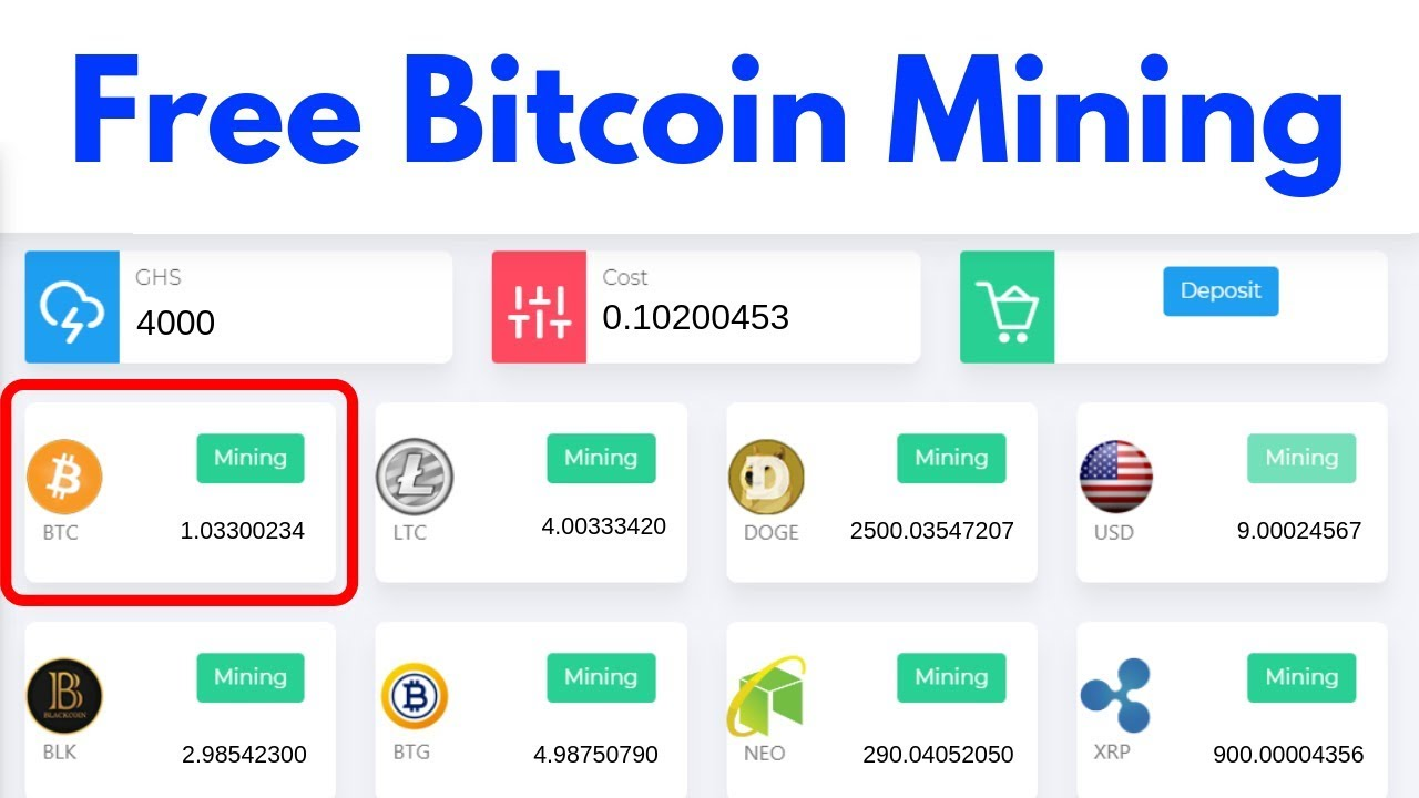 new free bitcoin cryptocurrency