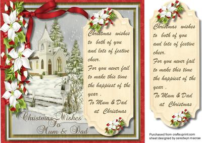 christmas card verses for