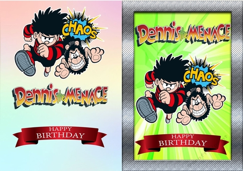 Dennis The Menace Birthday Card CUP821962 83674
