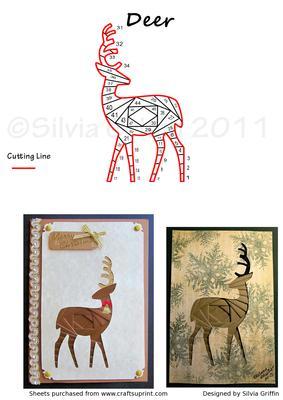 Deer Or Raindeer CUP458862262 Craftsuprint