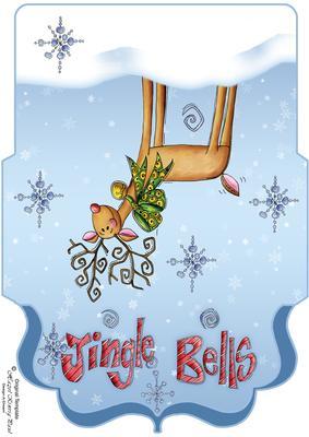 Reindeer Christmas Money Wallet Voucher CUP4838231446