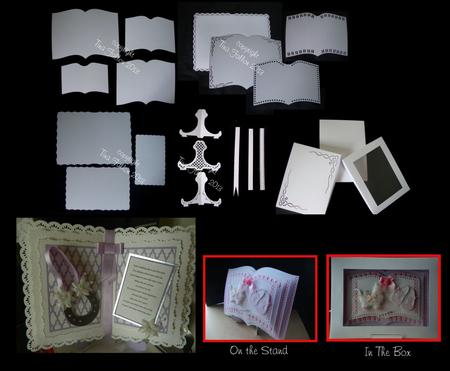 Open Book Mix N Match Set Inc Box And Stand CUP692955