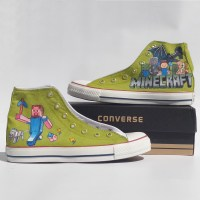 Minecraft Shoes - Custom Converse Shoes by ...