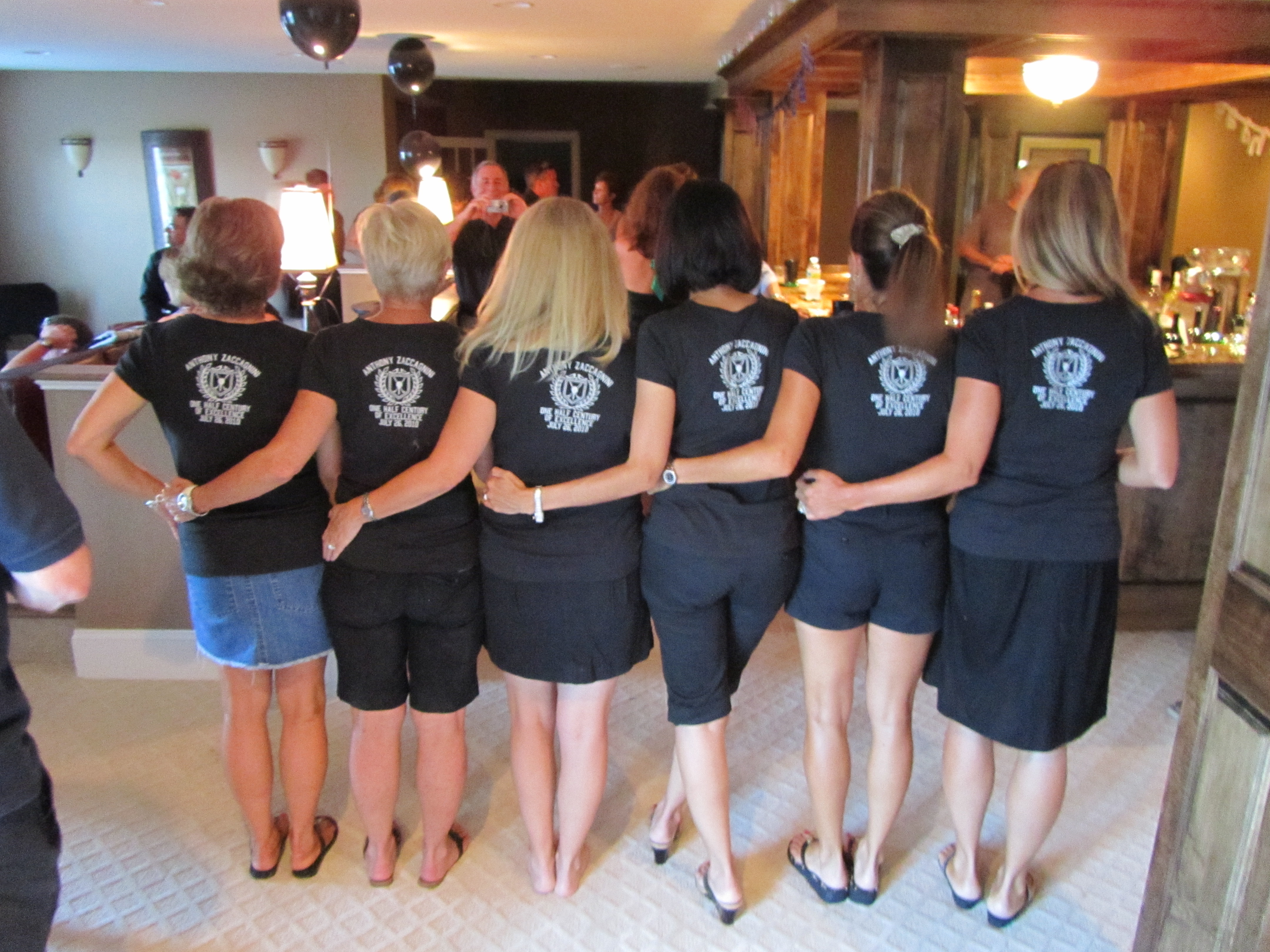 Custom T Shirts Zacks 50th Surprise Party