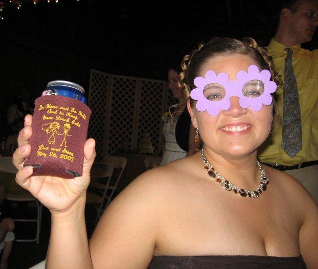 Beer Koozies At Weddings Are Fun