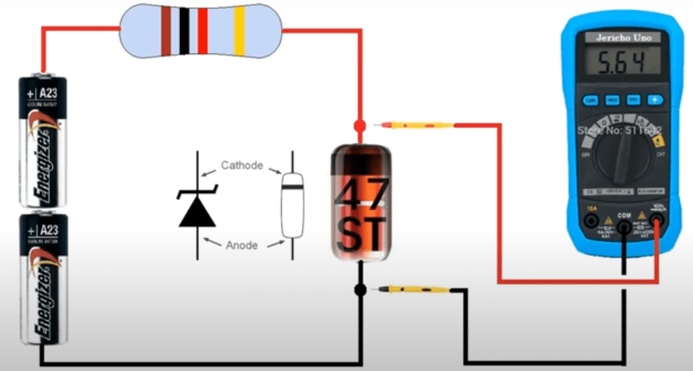Zener diode test