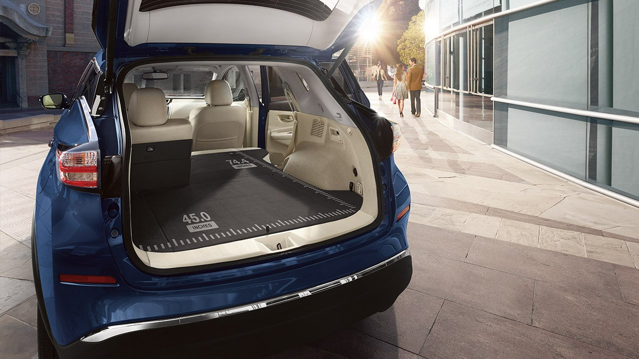 hight resolution of new nissan murano exterior features