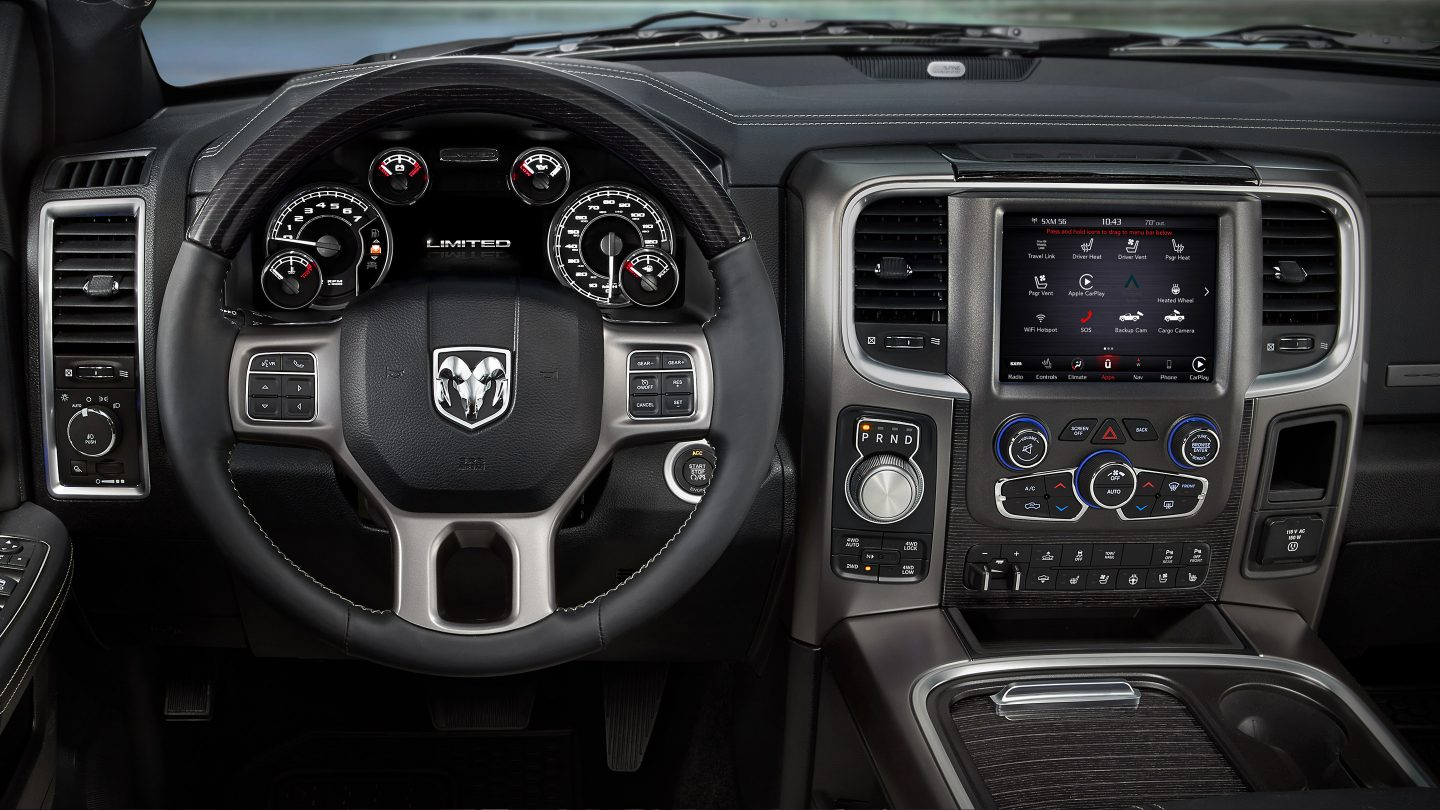 hight resolution of new ram 1500 interior features