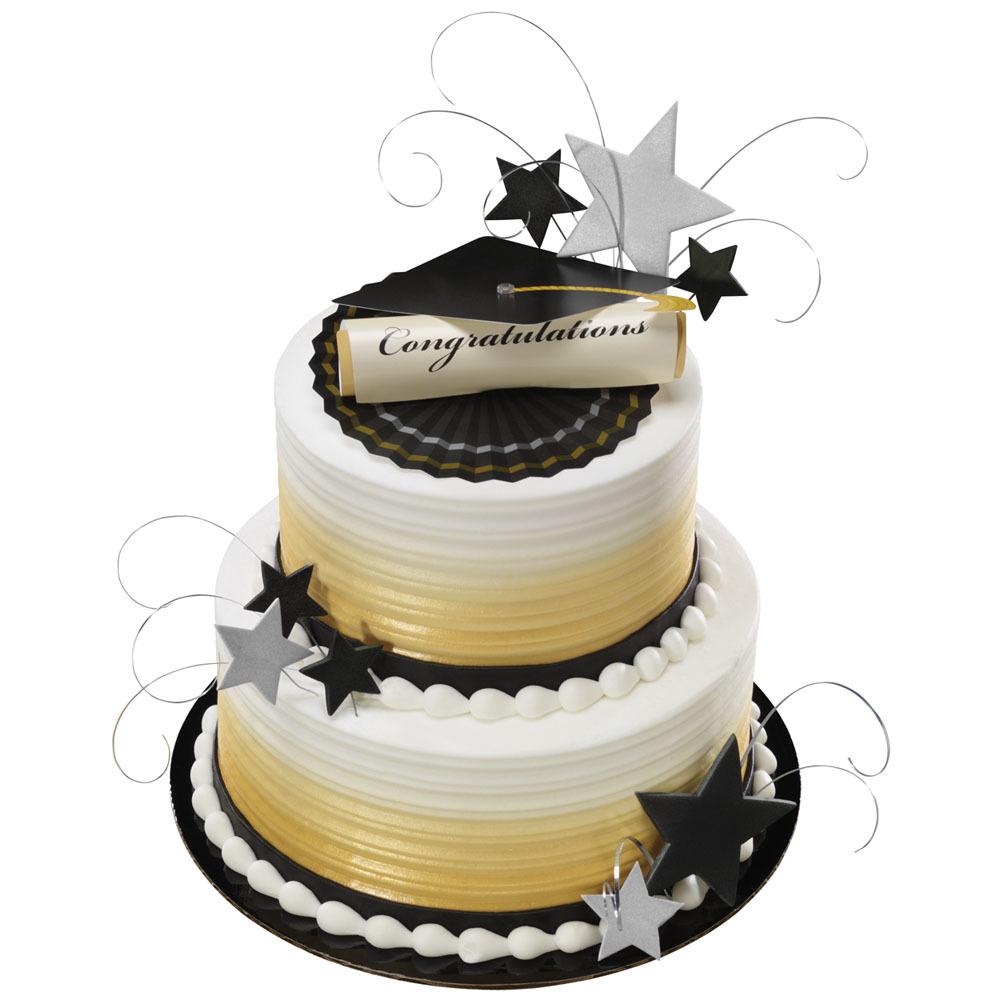 Cap  Diploma Stacked Cake  DecoPac