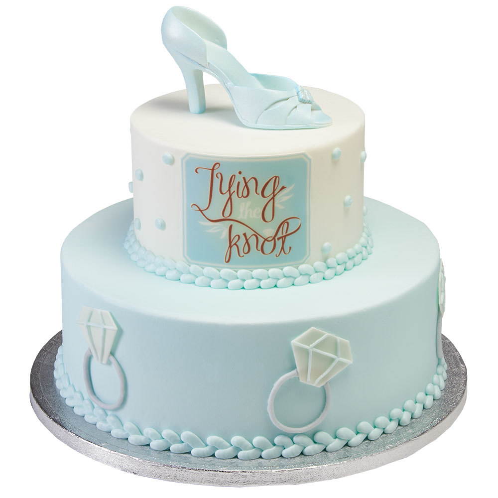 Tying The Knot Bridal Shower Cake Decopac