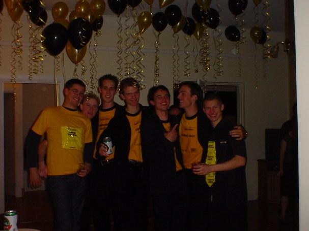 Evan's Black & Gold 21st