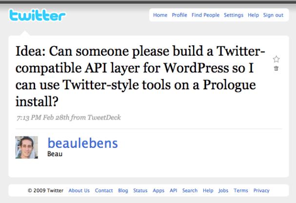 Twitter / Beau: Idea: Can someone please b ...