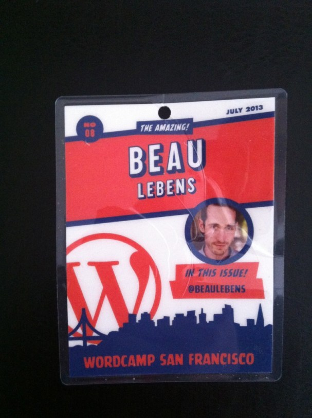 WordCampSF, 2013