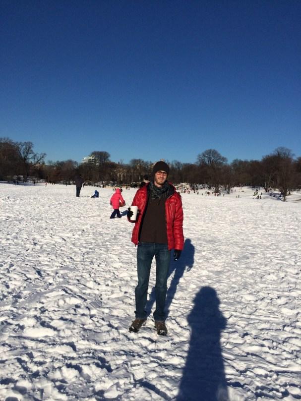 Snow in Prospect Park