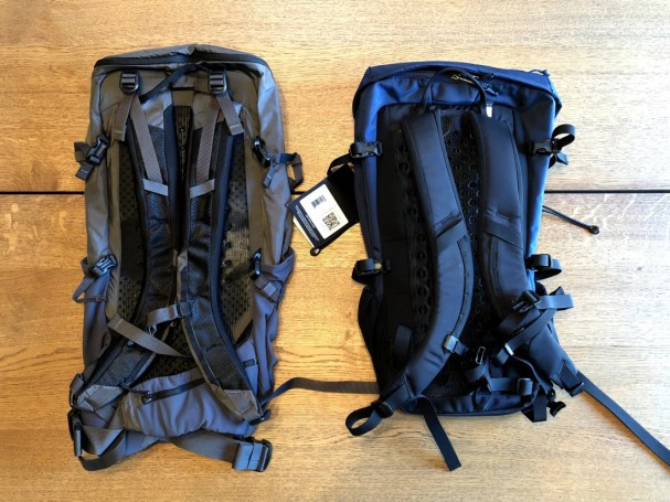 Backpack Review: Arc'teryx Brize 25L vs Patagonia Nine Trails 28L
