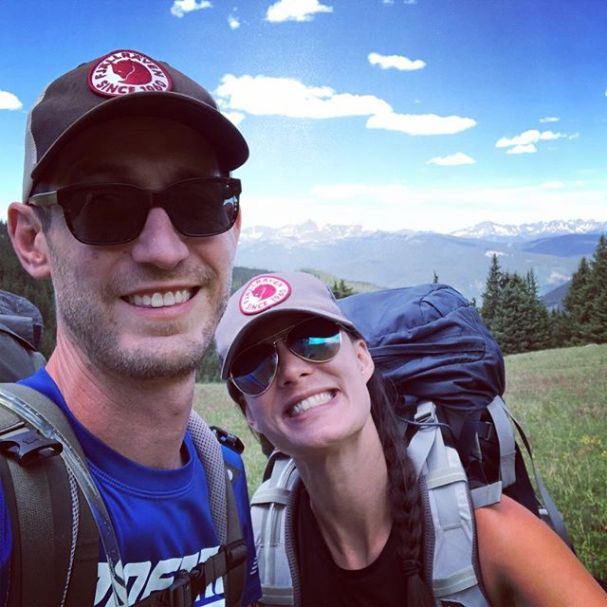 Cheesin' on top of a mountain, as we do! #fjallravenclassicusa