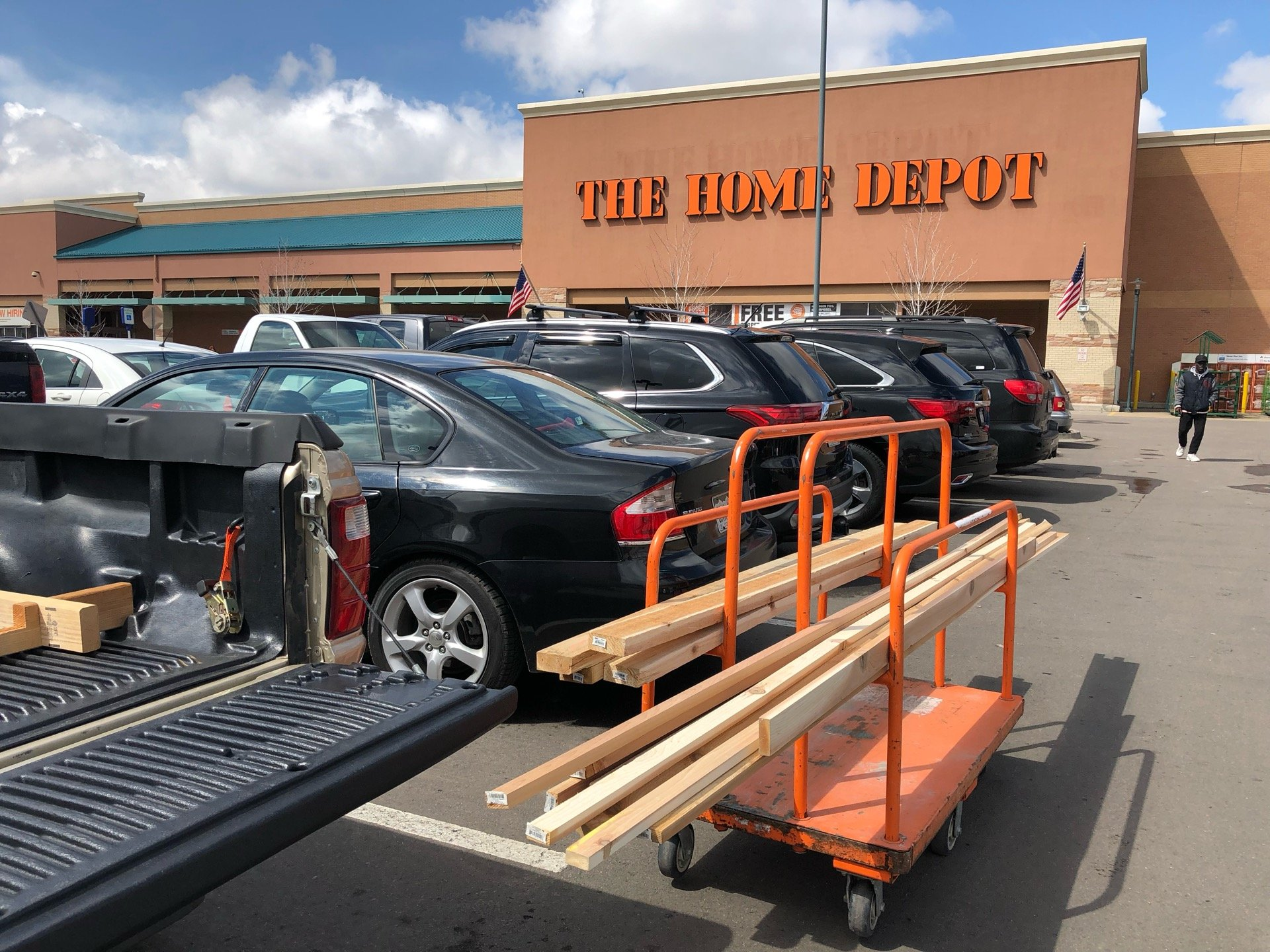 Checked in at The Home Depot