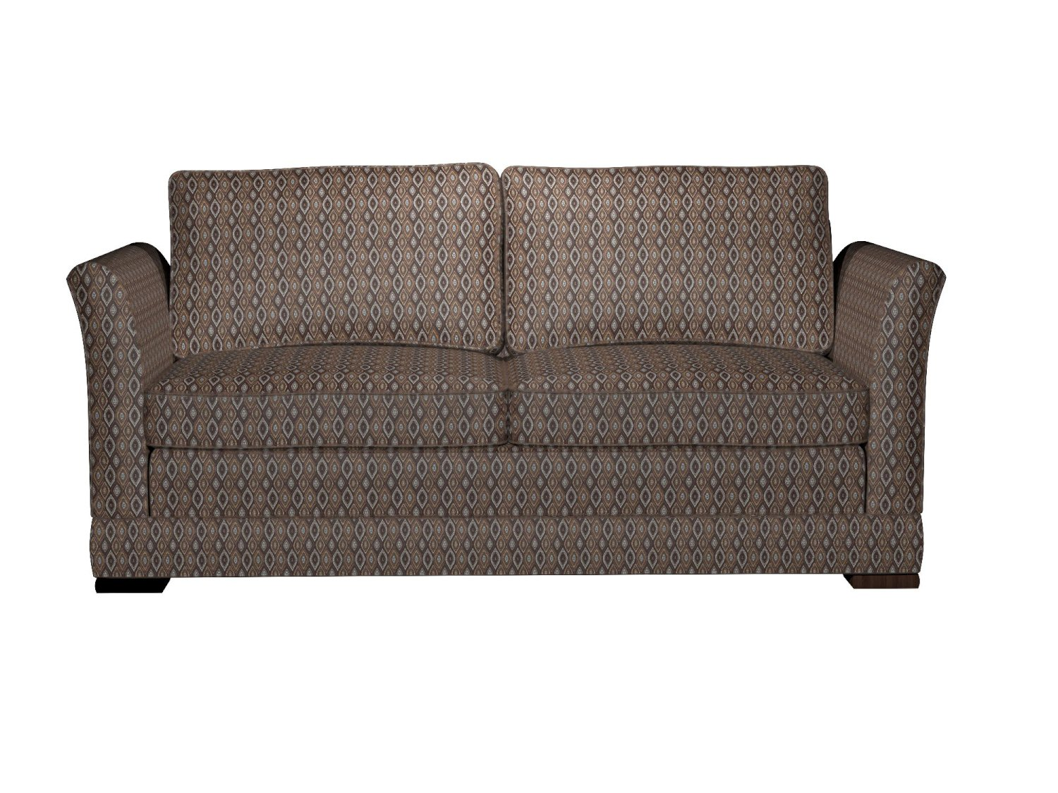 brocade sofa fabric sectional sofas with recliners for cheap a0015f brown light blue gold ivory oval upholstery